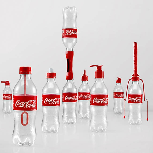 Coca-Cola Invents 16 Crazy Caps to Turn Empty Bottles Into Useful Objects with '2nd Lives'