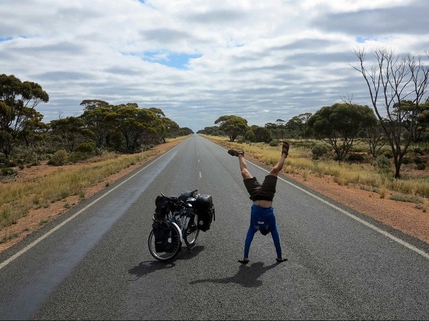 This is the longest straight road in Australia
