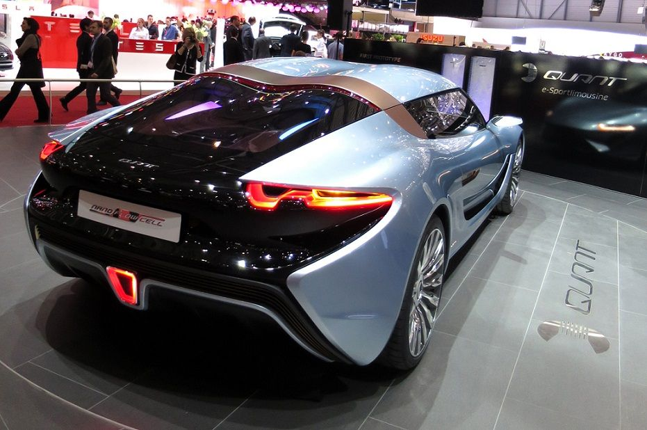 Salt Water Powered Supercar Quant E Sportlimousine