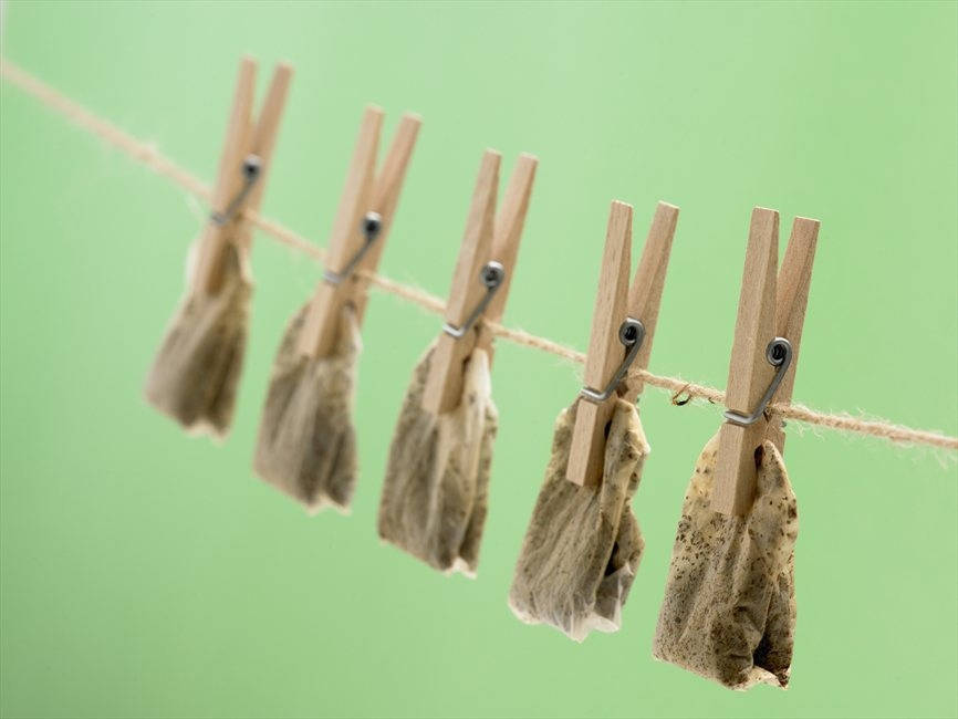 Never Throw Away The Used Tea Bags