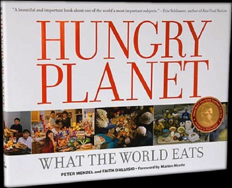 Hungry Planet: How Much Food is Eaten Around the World in One Week