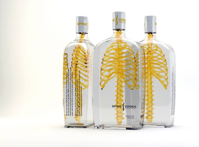 04-Spine Vodka-Clever Product Packages