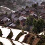 hidden mountain village in China