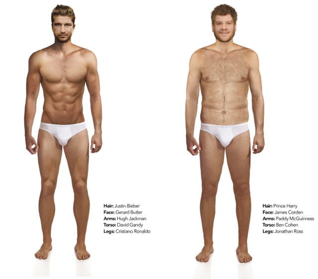 This Is What the Perfect Male Body Looks Like to Both Men and Women