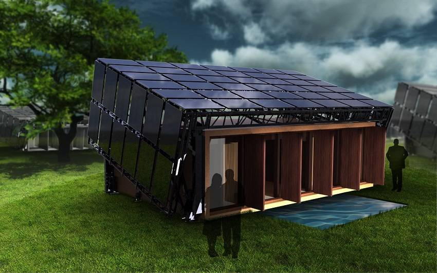 How to build a completely off the grid self sustaining home for Self sufficient home plans