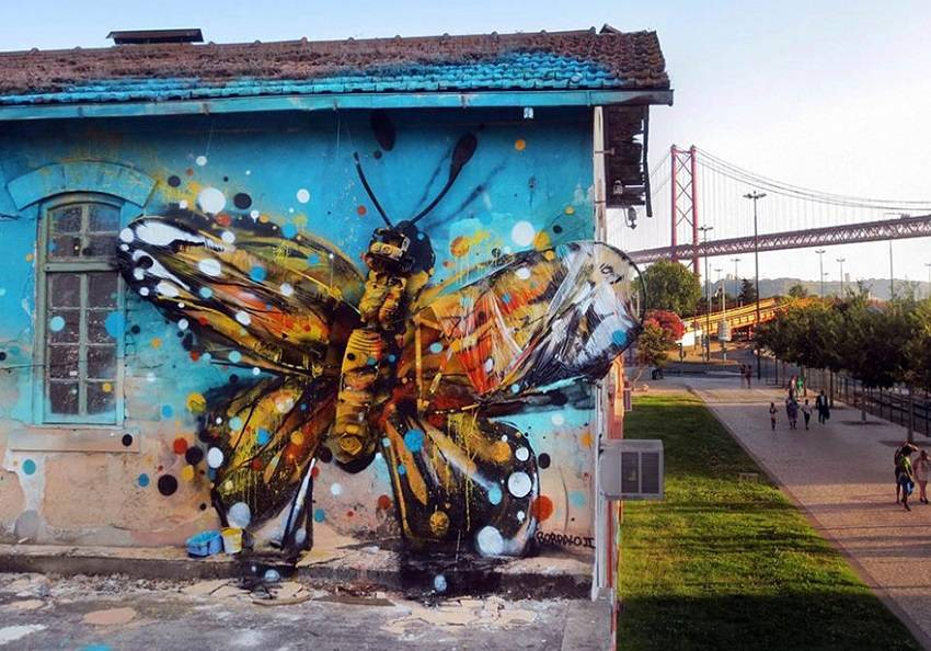 00- Amazing Street Art Murals From Trash