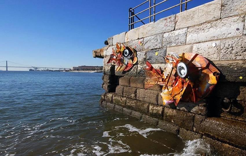 11-Bordalo II - Amazing Street Art Murals From Trash