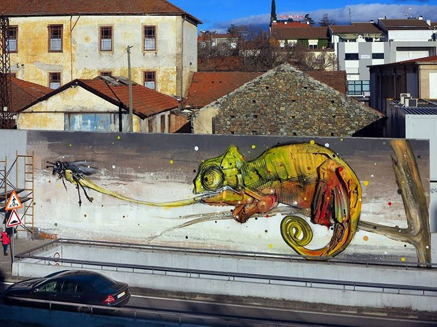 13-Bordalo II - Amazing Murals From Trash