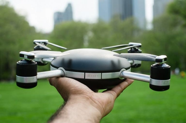 This Revolutionary Throw-and-Shoot Camera Drone Will Capture You While Flying Behind You