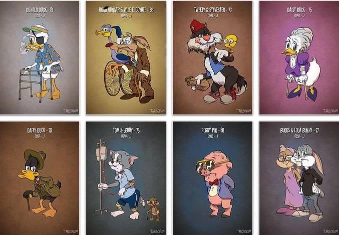 Cartoon characters that look like real people 10