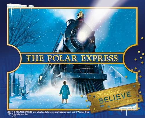 christmas books The Polar Express Book