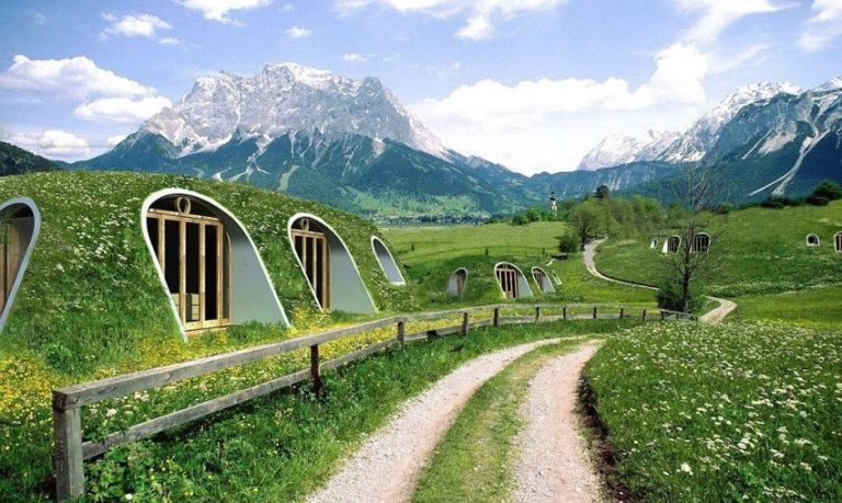 Where Fantasy Becomes Reality: These Cozy Hobbit Homes Can Be Built in Just 3 Days!