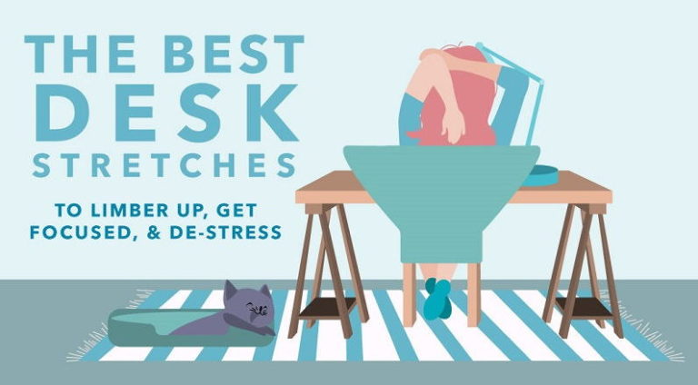 Read more about the article Try These Simple Desk Stretches to Neutralize the Negative Effects of Sitting