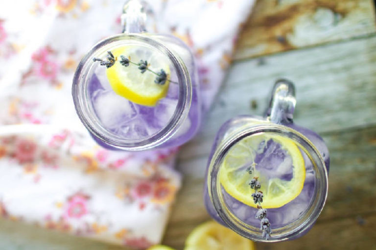 How to Make Lavender Lemonade to Stop Anxiety and Headaches