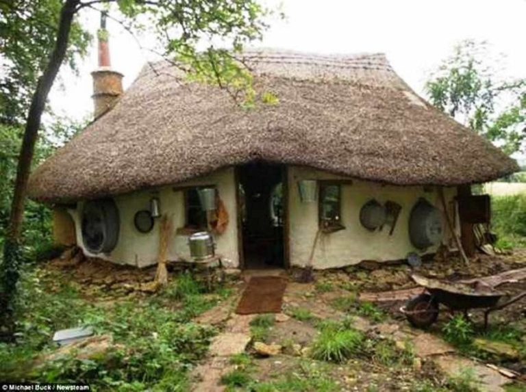 It Cost Just $250 to Build This Cute Eco-Friendly Cob House!