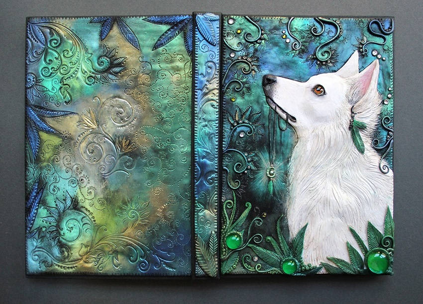 Handmade Story Book Cover ~ Handmade d book covers straight out of a fairytale