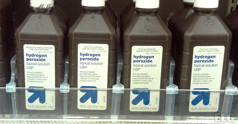 Hydrogen Peroxide Is Probably the Most Useful Item In Your Home