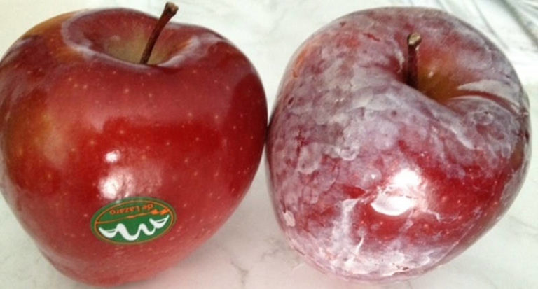 How to See If There Is a Cancer Causing Wax on Apples and Other Fruits