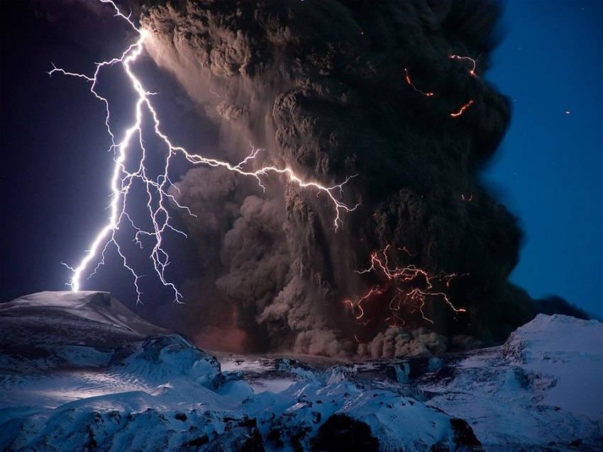 Volcanic Eruptions Around the World