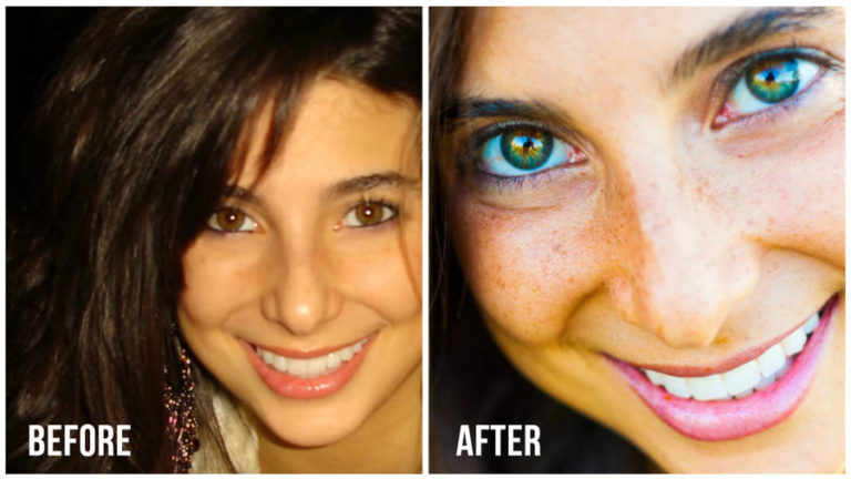 How Raw Food Diet Changed This Woman's Eye Color