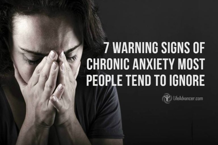 7 Warning Signs of Chronic Anxiety Most People Tend to Ignore