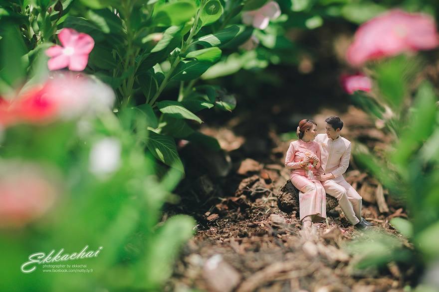 Miniatures by Ekkachai Saelow