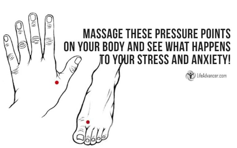 5 Pressure Points to Relieve Stress You Should Know about