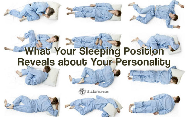 7 Sleeping Positions and What They Reveal about Your Personality