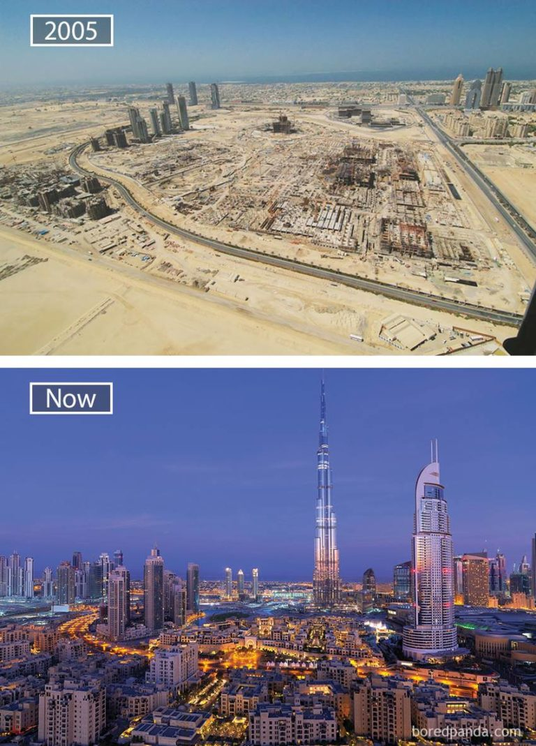 10 Images That Show How the World's Largest Cities Changed in the Past Hundred Years