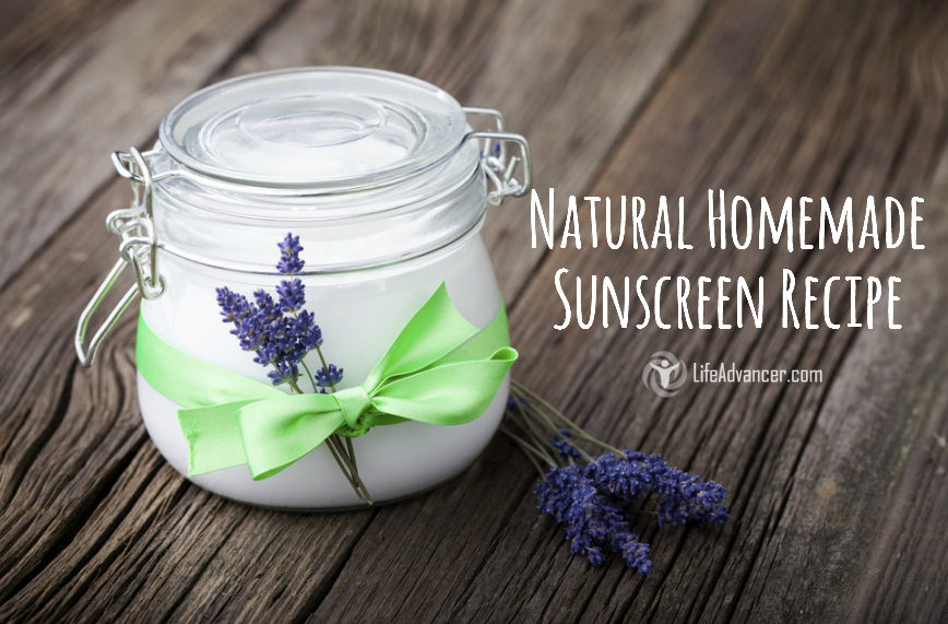 natural homemade sunscreen recipe