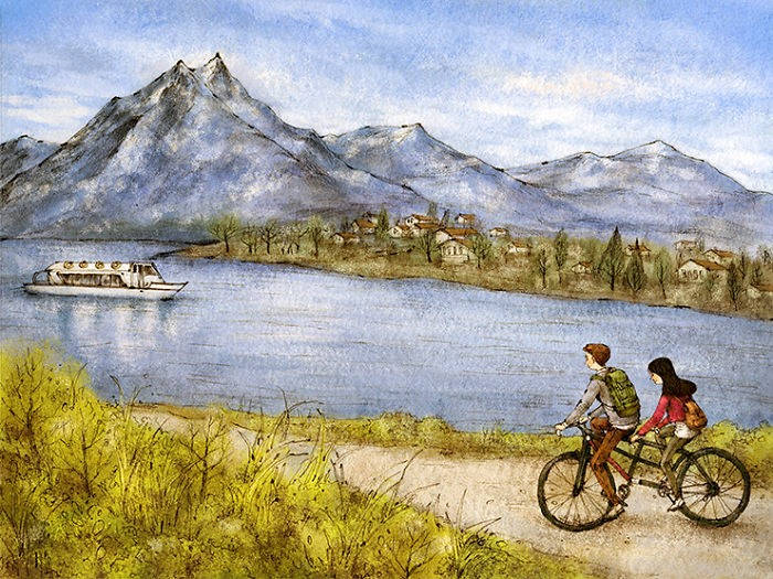 A bicycle Trip to Switzerland