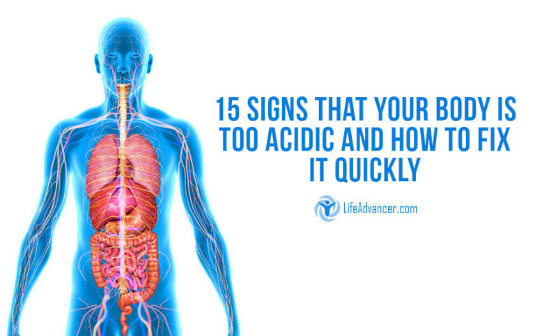 15 Signs Your Body Has Too High Acidity Levels and How to Fix It