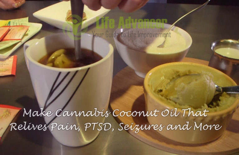 How to Make Cannabis Coconut Oil That Relieves Pain, Seizures & More
