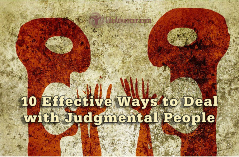 How to Deal with Judgmental People in 10 Effective Ways