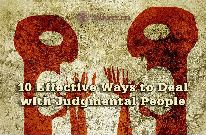 Deal Judgmental People