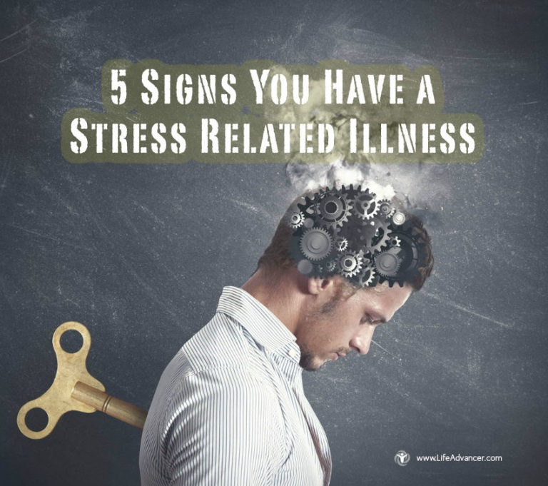 5 Signs You Have a Stress-Related Illness (and How to Relieve It)
