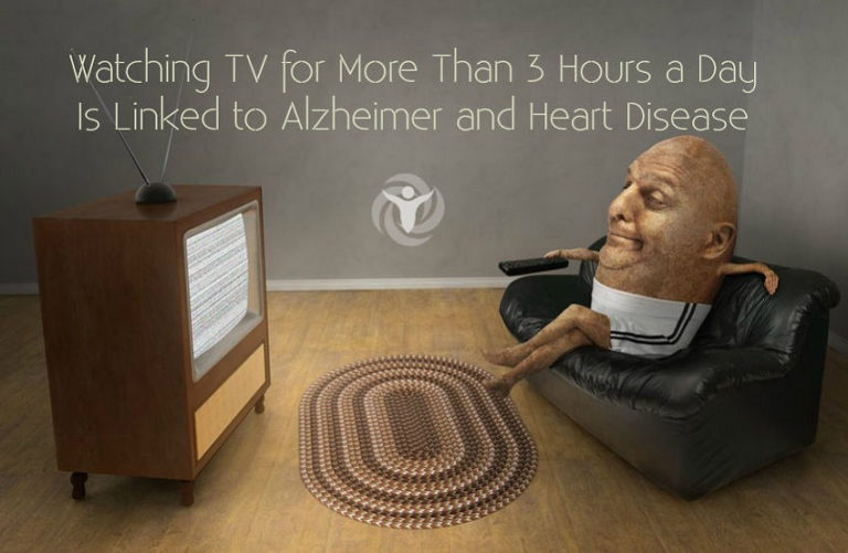 Watching TV for More Than 3 Hours a Day Is Linked to Alzheimer and Heart Disease
