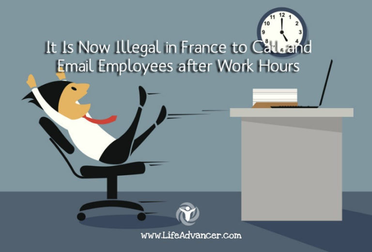 It Is Now Illegal in France to Call and Email Employees after Work Hours