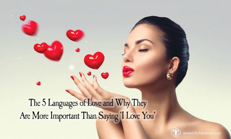 The 5 Languages of Love and Why They Are More Important Than Saying 'I Love You'