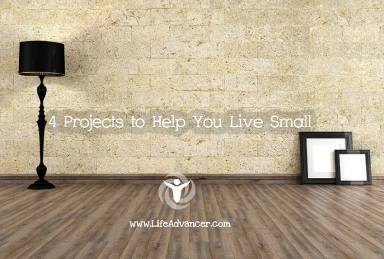 Minimalist Life: 4 Projects to Help You Live Small