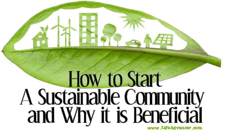 How to Start a Sustainable Community and Why It Is Beneficial