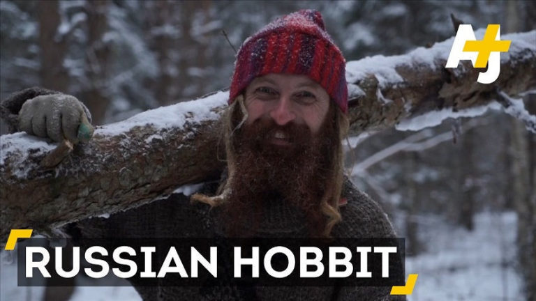 Meet the Russian Hobbit: This Man Left a Life in the City to Build an Underground House in the Woods