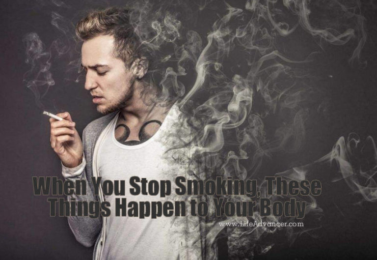 Read more about the article When You Stop Smoking, These Things Happen to Your Body