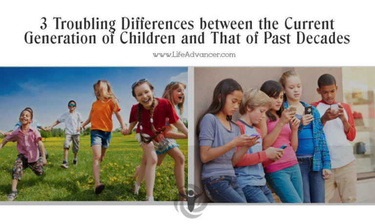 3 Troubling Differences between the Current Generation of Children and That of Past Decades