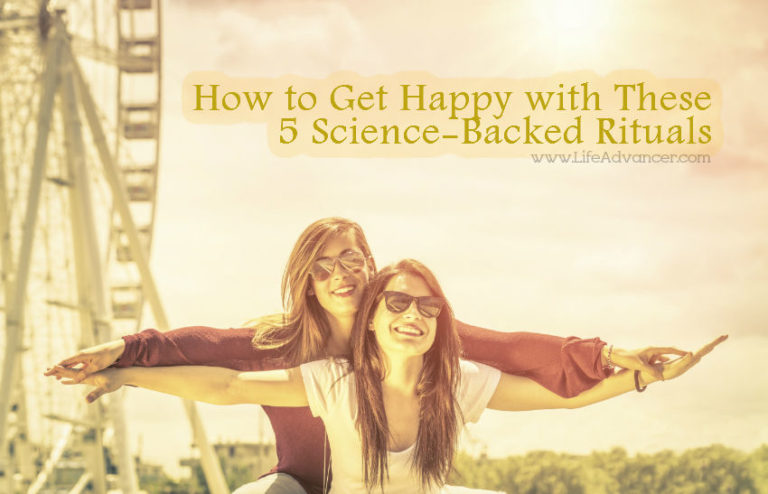 How to Get Happy with These 5 Science-Backed Rituals