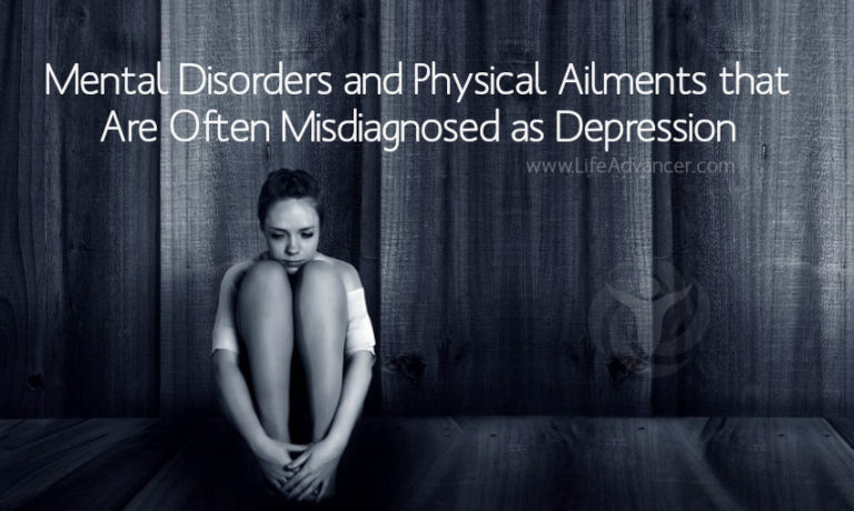 Mental Disorders and Physical Ailments that Are Often Misdiagnosed as Depression