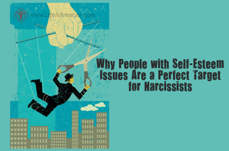 Reasons Why People with Self-esteem Issues Are a Perfect Target for Narcissists