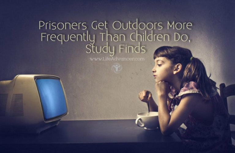Study: Prisoners Get Outdoors More Frequently Than Children
