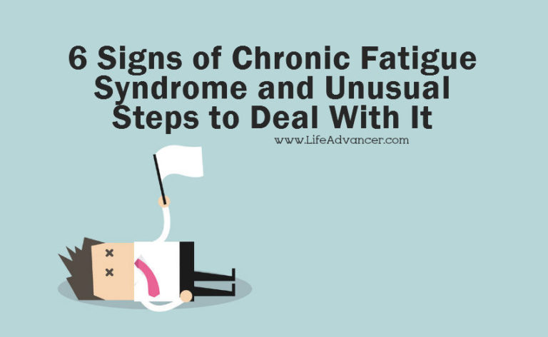 Read more about the article 6 Signs of Chronic Fatigue Syndrome and Unusual Steps to Deal with It