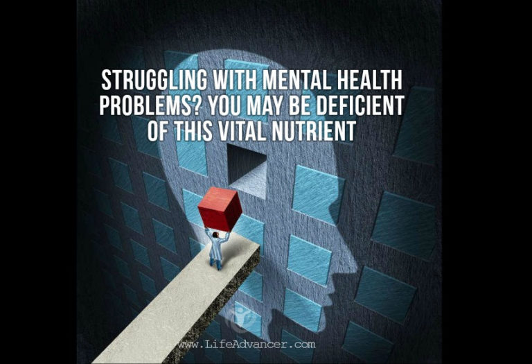 Struggling with Mental Health Problems? You May Be Deficient of This Vital Nutrient